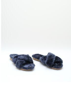 OCT Shoes Kadın Lacivert Terlik TS1026 2