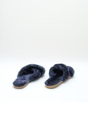 OCT Shoes Kadın Lacivert Terlik TS1026 3