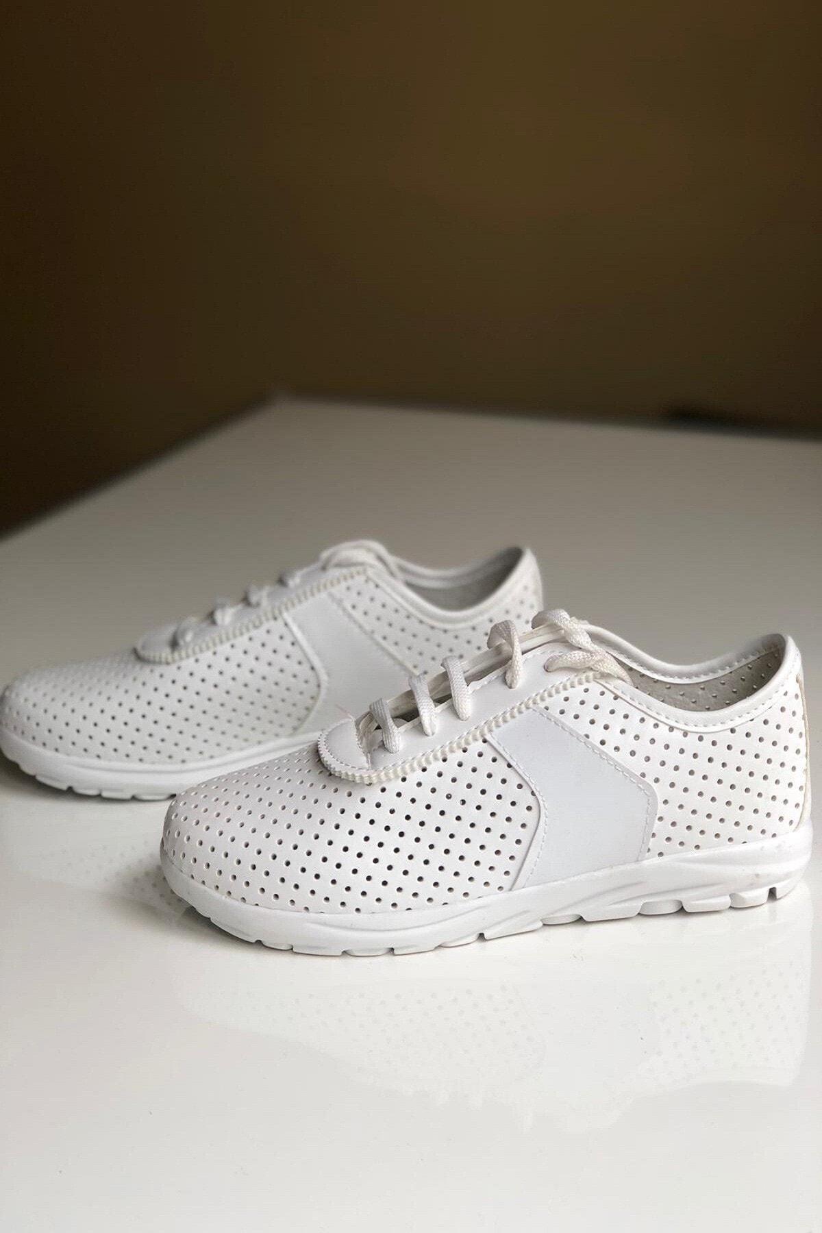 roys Kadın Beyaz Spor Ayakkabı