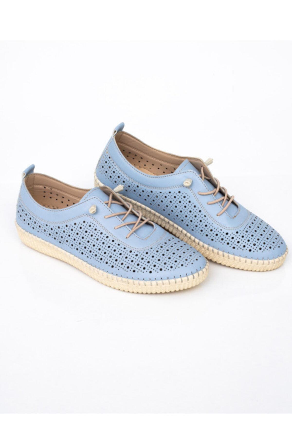 MelikaWalker Kadın Mavi Ayakkabı