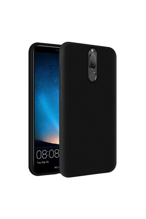 KZY İletişim Huawei Mate 10 Lite Içi Kadife Soft Logosuz Lansman Silikon Kılıf - Siyah 0