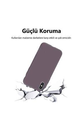 KZY İletişim Huawei Mate 10 Lite Içi Kadife Soft Logosuz Lansman Silikon Kılıf - Lila 3