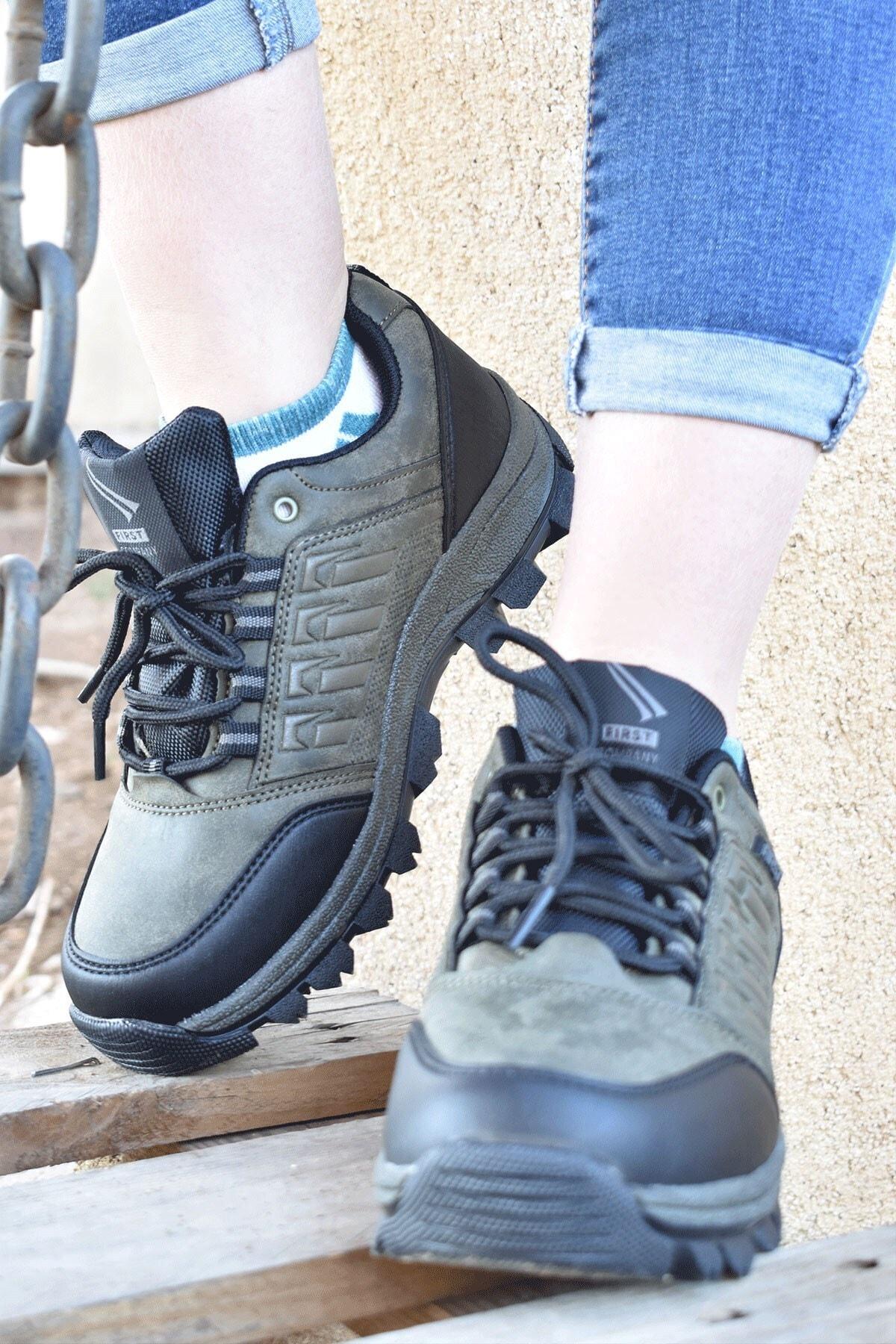 Matilla Outdoor Haki Kadın Ayakkabı
