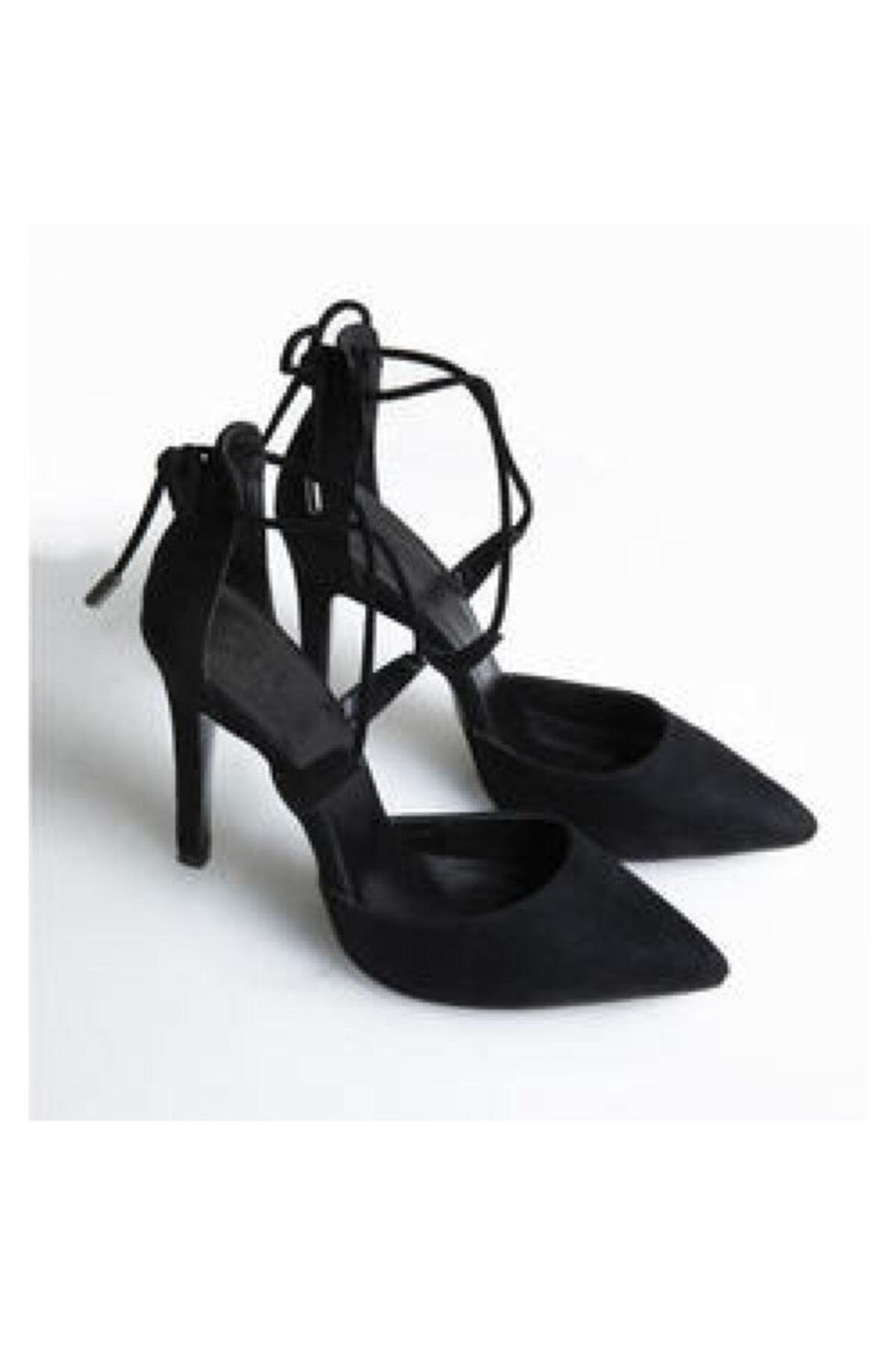 Manner Effect Canny Fine Sand Kadın Bej Topuklu Ayakkabı