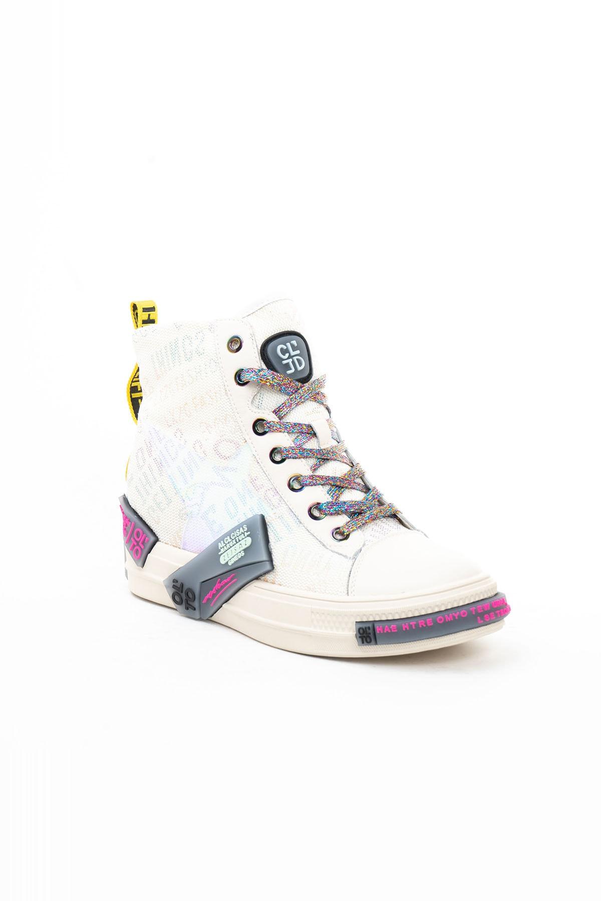 Guja Kadın Beyaz Yürüyüş Ayakkabısı