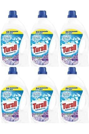 Tursil Jel Sıvı Çamaşır Deterjanı 44 Yıkama Leylak Bahçesi 6 adet 0