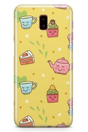Melefoni Samsung Galaxy J6 Plus Kılıf Tea Time Serisi Rosalie 0
