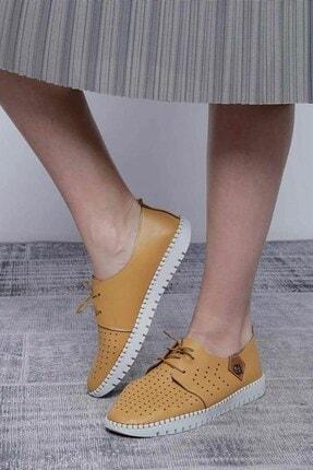 Mossta Kadın Sarı Ayakkabı 2