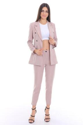 Kadın Pembe Takım Elbise KMPTKSL342000