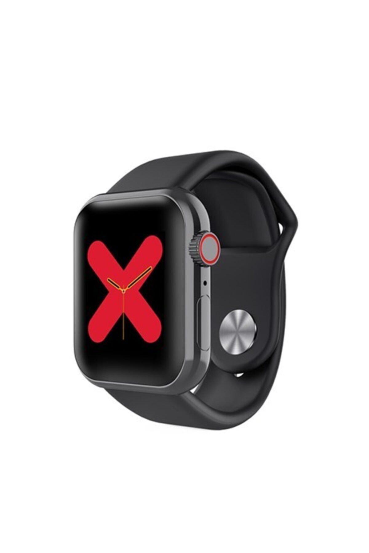 Akıllı Saat Nabız Ölçer Bluetooth Bileklik Spor Adımsayar X7 Siyah