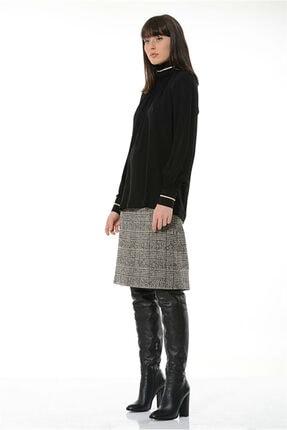 BİRELİN Kadın Siyah Bluz 1