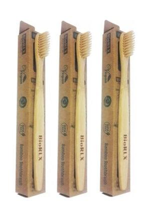 BioRLX Bambu Diş Fırçası Medium Ekolojik X 3 Adet 0