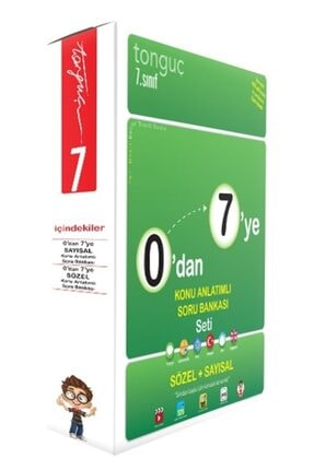 Tonguç Akademi 0'dan 7'ye Konu Anlatımlı Soru Bankası Seti 0