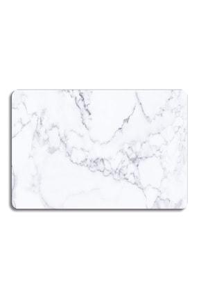 Decovetro Beyaz Mermer Görünümlü | Cam Kesme Tahtası - Kesim Tablası | 30cm X 40cm 2