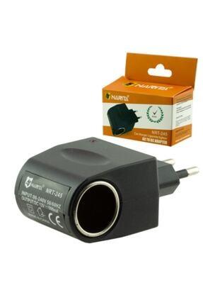 gaman Çakmaklık Priz Dönüştürücü 220v To 12v Dönüştürücü / 220v Priz Girişini Çakmaklığa Çevirmeye Yarar 0