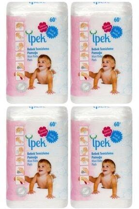 İpek Maxi Bebek Temizleme Pamugu 60 Li 4 Paket 0