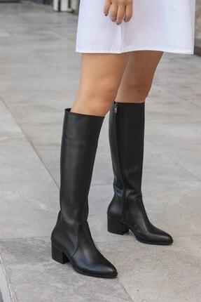 Mio Gusto Kadın Lidya Siyah Çizme 0
