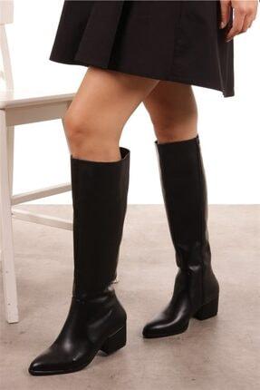 Mio Gusto Kadın Lidya Siyah Çizme 3