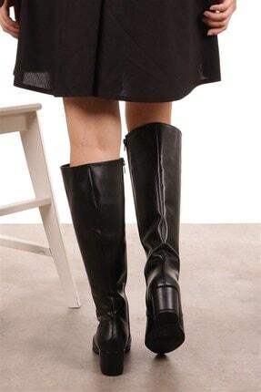 Mio Gusto Kadın Lidya Siyah Çizme 4