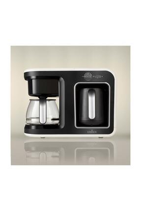 Karaca Hatır Plus 2 in 1 Krem Kahve Makinesi 1