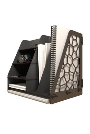 KUK Design Voroni Ofis Masaüstü Organizer Düzenleyici A4 Evrak Rafı 2