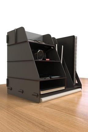 KUK Design Voroni Ofis Masaüstü Organizer Düzenleyici A4 Evrak Rafı 4