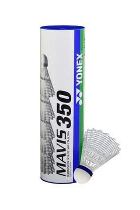 Yonex Mavis 350 6'lı Beyaz Badminton Topu 1