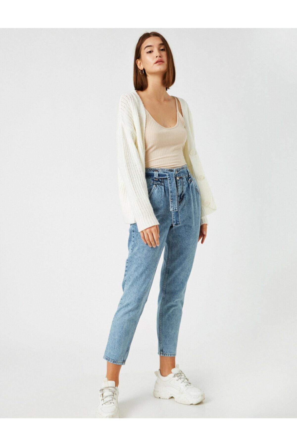 Kadın Açik Indigo Jeans 1KAK47066MD