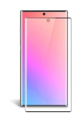 Sunix Samsung Galaxy Note 10 Plus Pmma Fibernano Kavisli Ekran Koruyucu Kırılmaz Cam 0