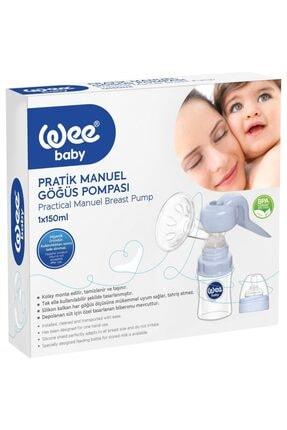 Wee Baby Pratik Manuel Göğüs Pompası Ve 40'lı Göğüs Pedi 1