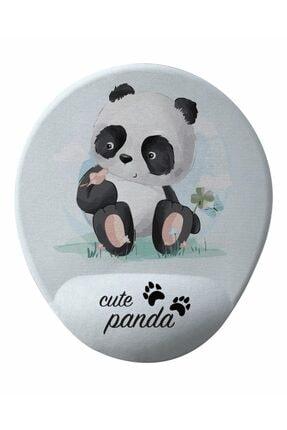 GameBoss Panda Bilek Destekli Tasarım Mouse Pad 0