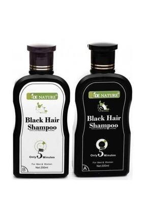 De Nature Saç Siyahlaştırıcı (beyaz Saç Giderici) Şampuan 1