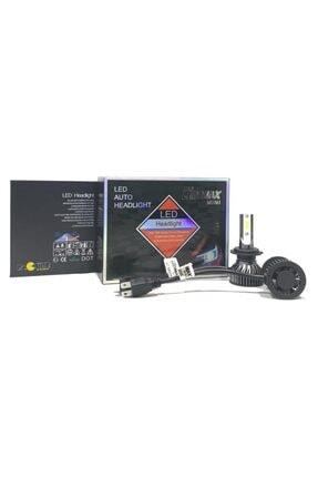 LEDMAX H7 Mini/slim Şimşek Led Xenon Far Ampul 8000lm 6500k Beyaz Renk, Fan Soğutuculu 2