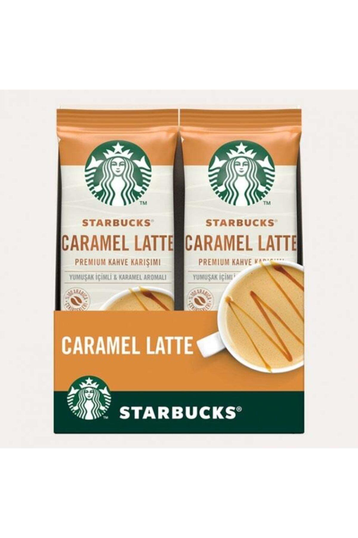 Caramel Latte Premium Kahve Karışımı 21.5 Gr X 10 Paket
