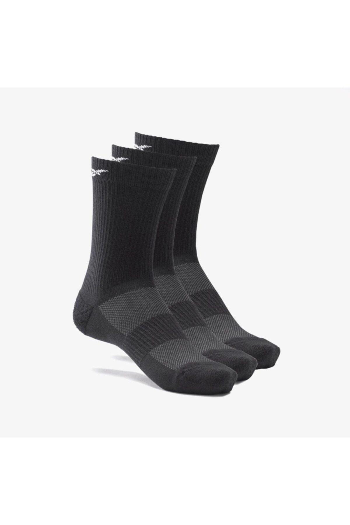 Gh0415 Siyah 3 Çift Uzun Yastıklamalı Çorap