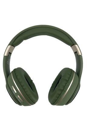 YK Design Rgb Led Işıklı Bluetooth Stereo Kablosuz Kulaklık Yeşil + Sd Kart 1