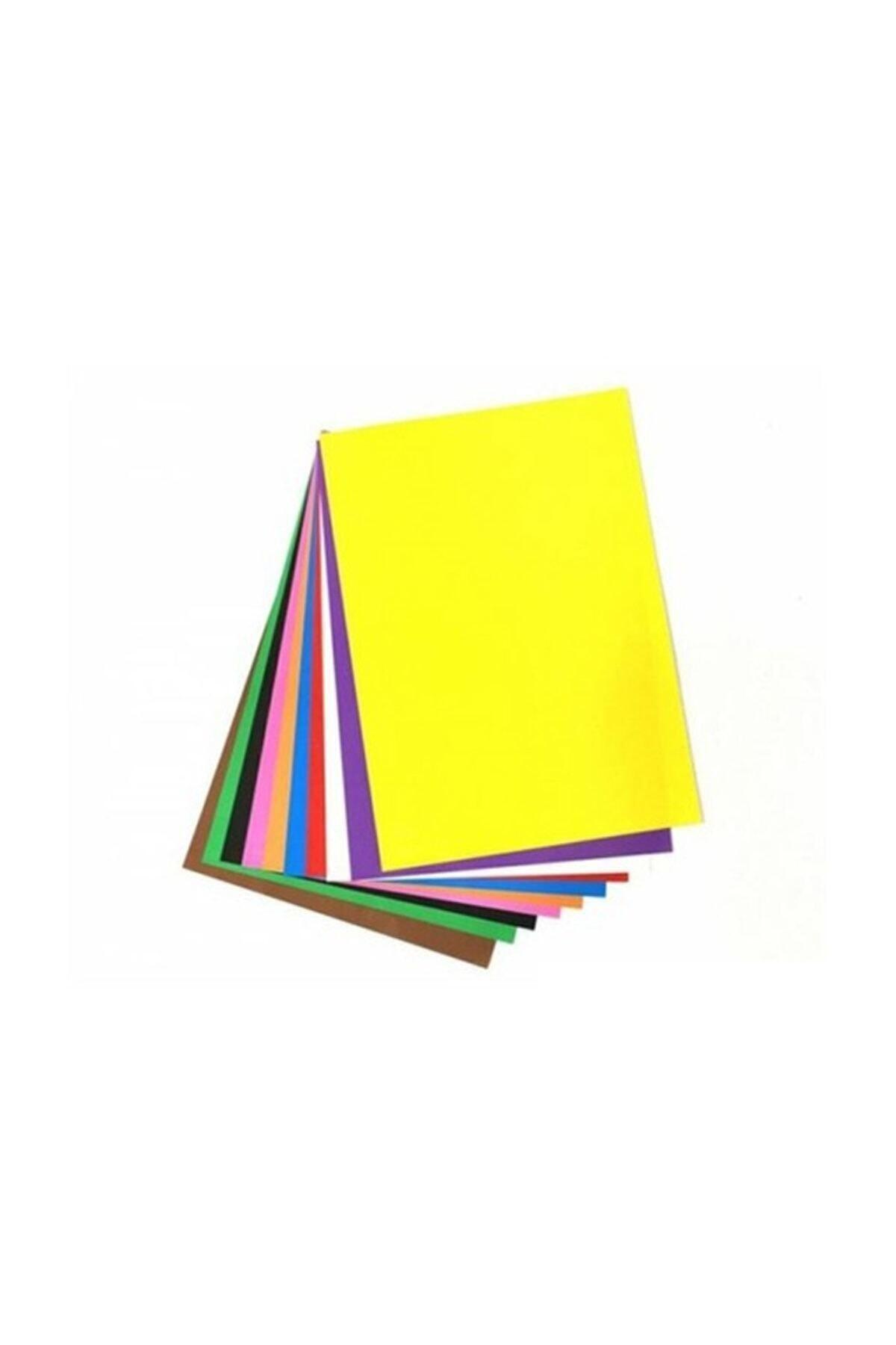 1 org zoom A4 Elişi Kağıdı Poşetli 10 Renk San304 ( Kırtasiye)
