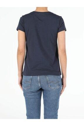 Colin's Kadın Lacivert Kısa Kol  T-Shirt 1