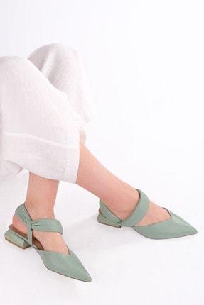 Marjin Kadın Yeşil Babet İnoz 0