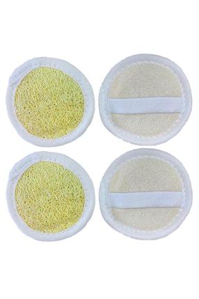 Biogreenlife El Yapımı Doğal Hatay Kabak Lifi Yüz Lifi Kese Peeling Etkili Banyo Lifi 2 Adet 0