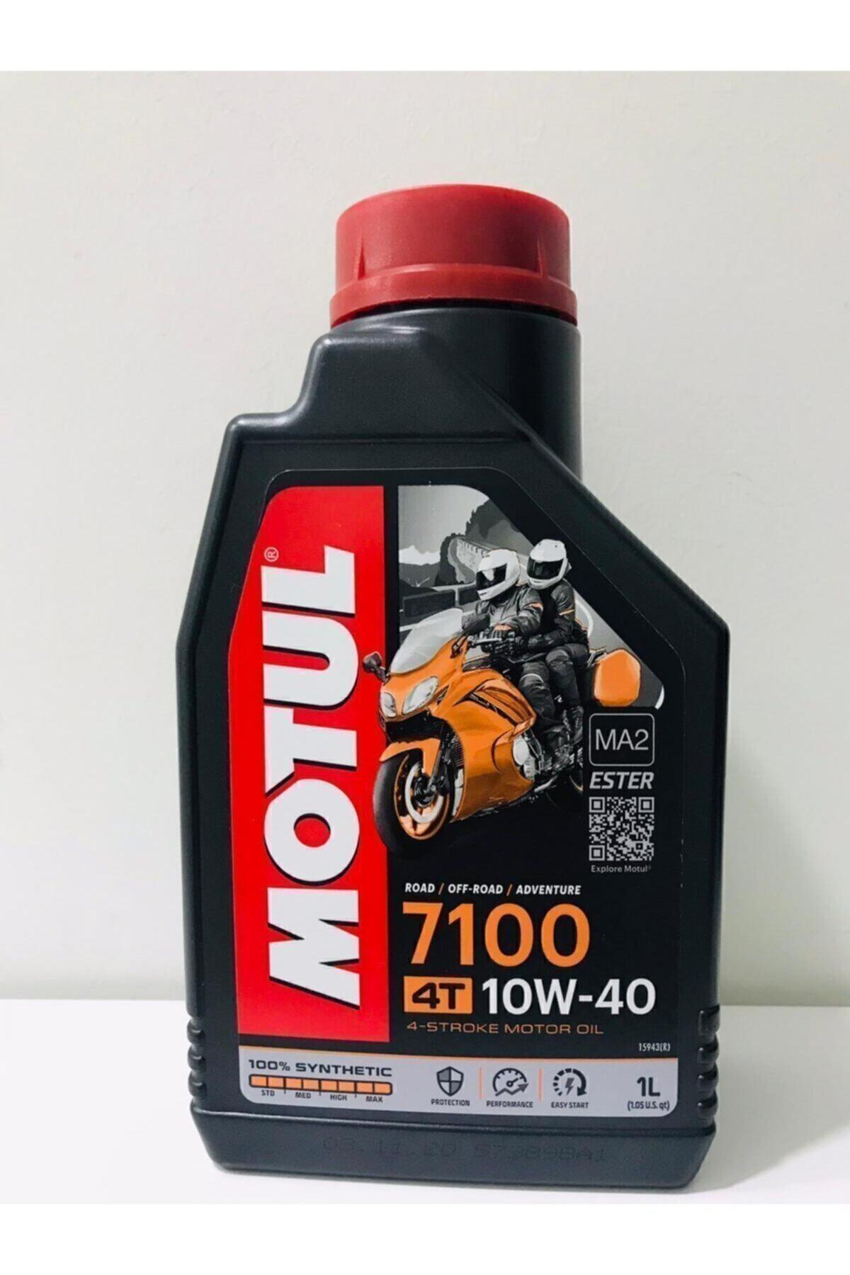 7100 10w40 4t 1 Litre Motosiklet Yağı