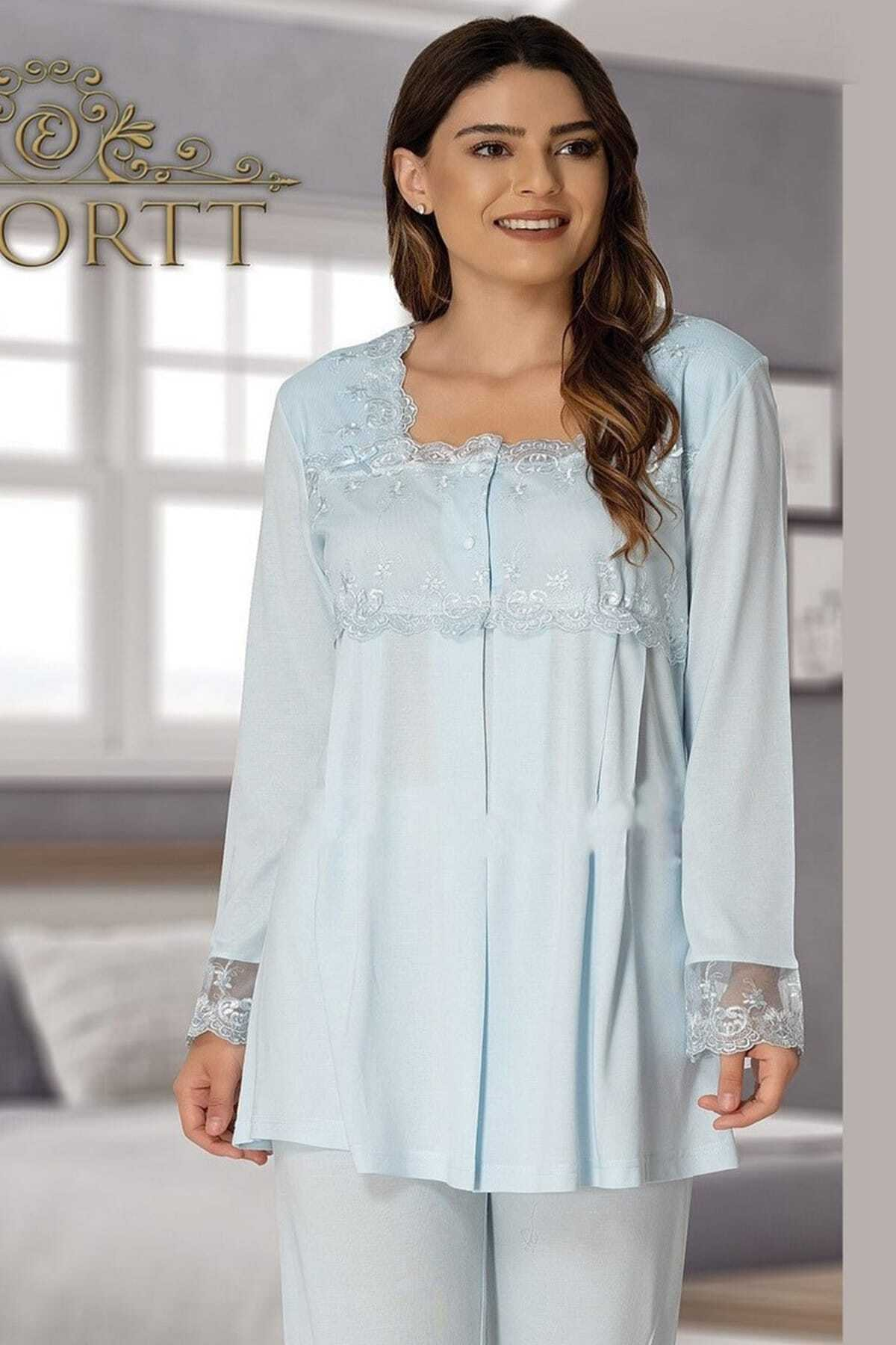 Hamile Effort Lohusa Pijama Takım