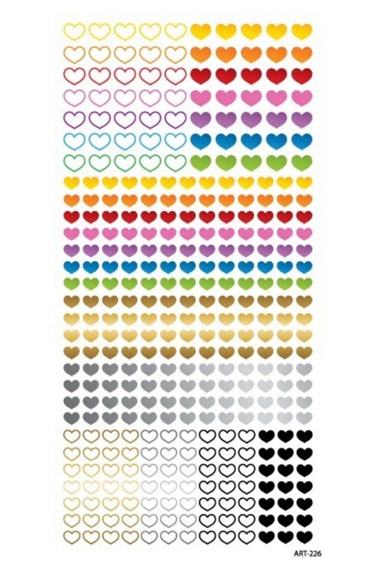 Kalpler Tırnak Dövmesi Tırnak Tattoo Nail Art Tırnak Sticker