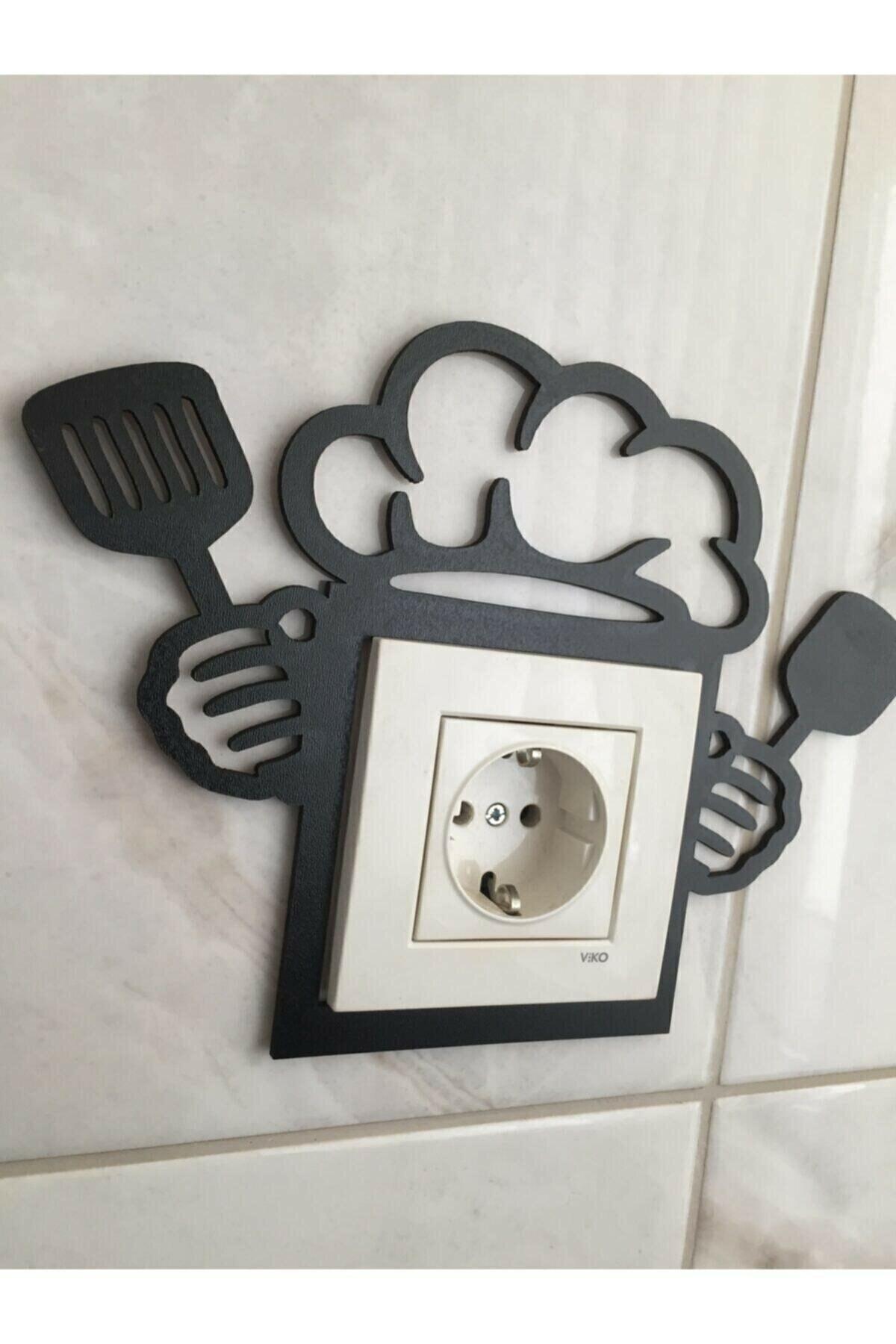 Dekorasyon Mutfak Priz Çerçevesi