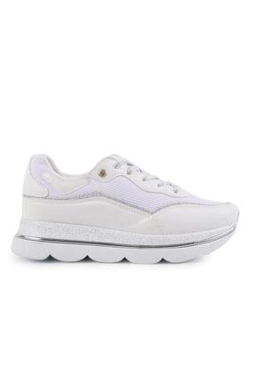 Beyaz-beyaz Kadın Spor Ayakkabı MS176962