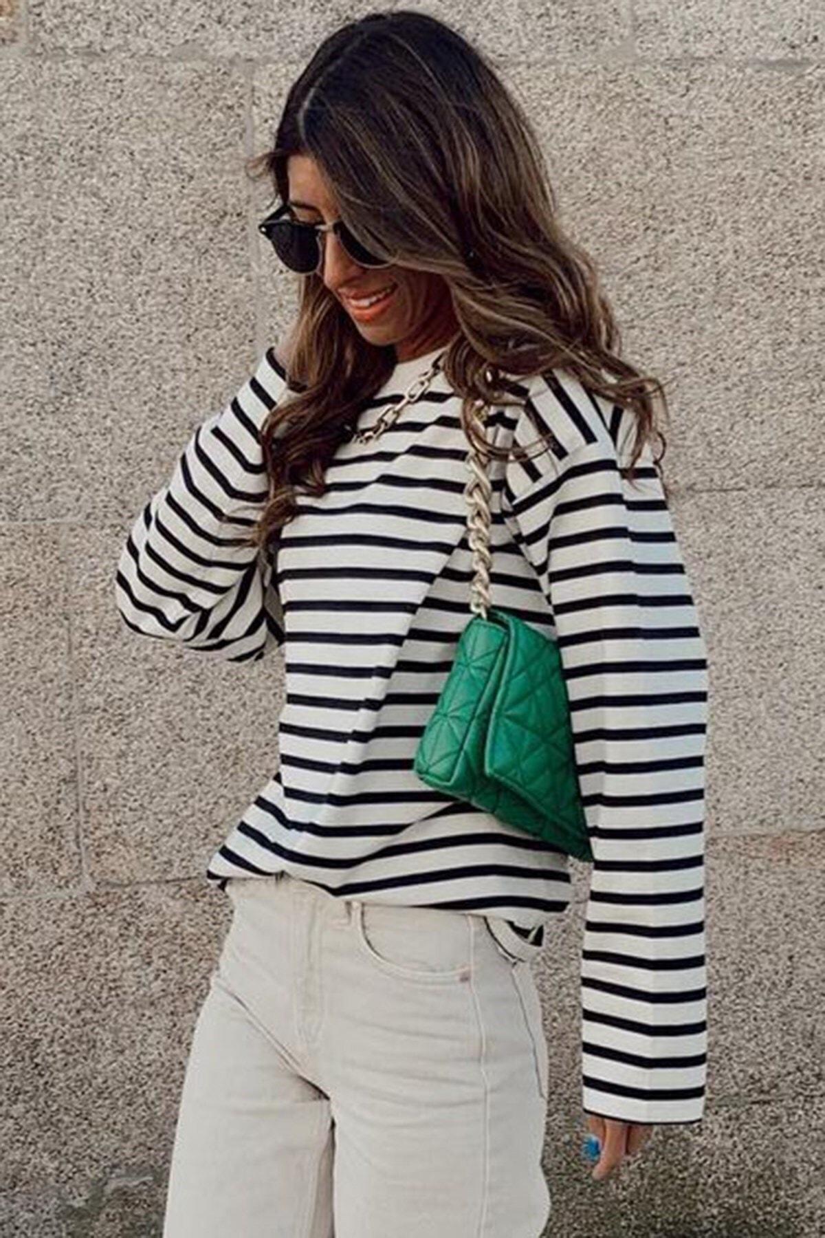 Kadın Beyaz Sweatshirt Mg980