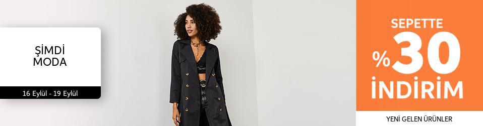 Şimdi Moda - Kadın Tekstil - %30
