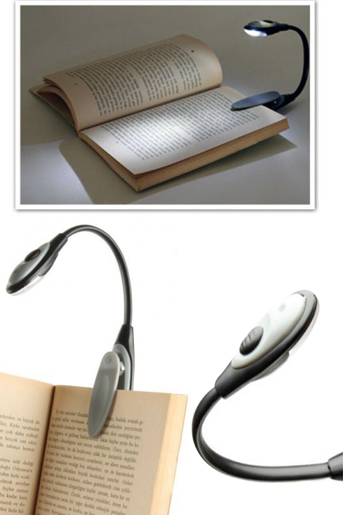 Mandallı Led Kitap Okuma Lambası Desk Kitap Okuma Işığı Led Masa Lambası