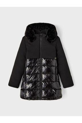 Picture of 13192501 Nkfmarol Long Jacket Siyah 13 Yaş