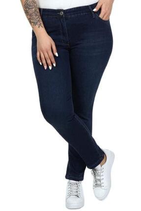Kadın Arka Cep Detaylı Bilek Boy Kot Pantolon S3030488